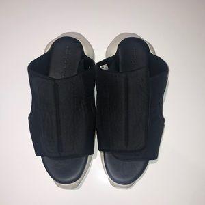 Rick Owens padded nylon slide sandal (PRICE DROP)